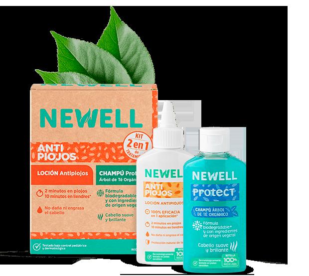 newell kit tratamiento antipiojos