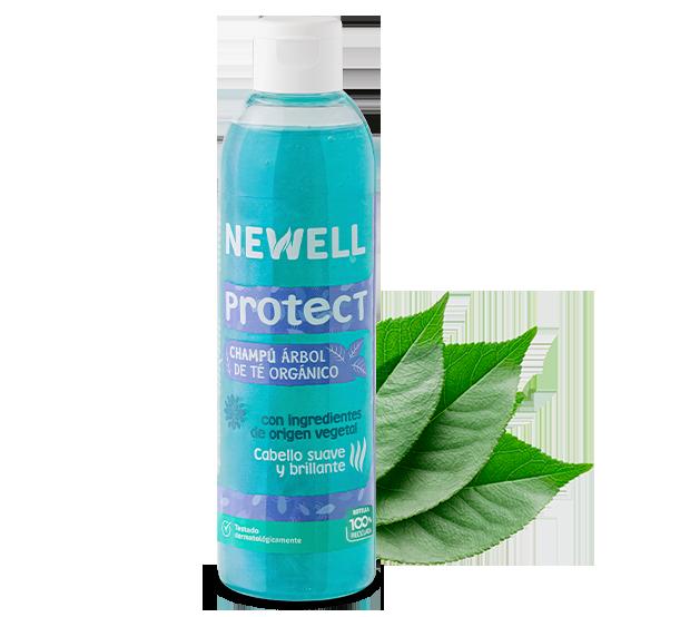 newell champú protect árbol de te orgánico