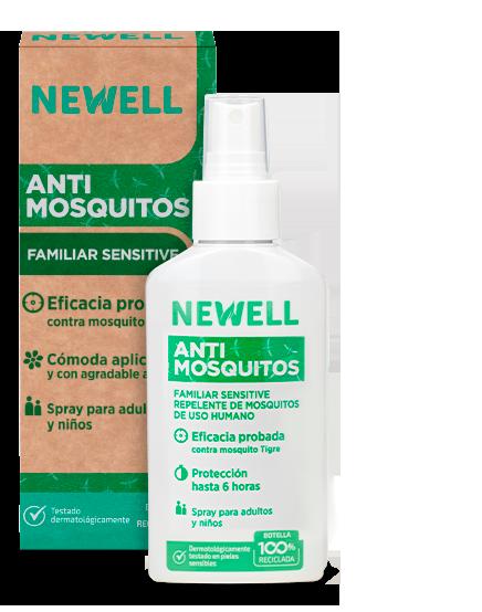 newell antimosquitos familiar sensitive