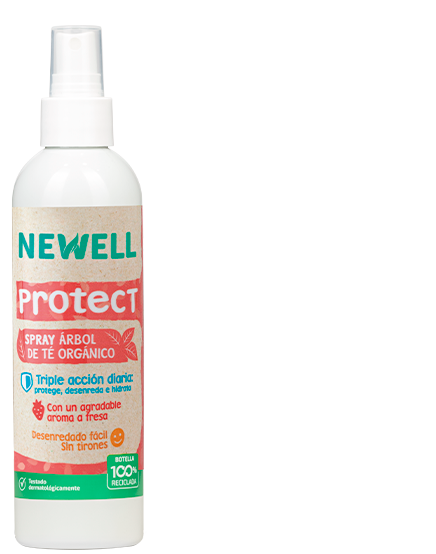 newell spray protect árbol de te orgánico