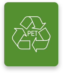 pet 100% reciclable
