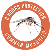 9h de protección contra mosquito común