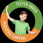 testado bajo control pediátrico